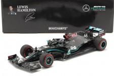 MERCEDES-AMG F1 W11 Campeon del Mundo 2020 Tuscan GP L. Hamilton - Minichamps Escala 1:18 (110200944)