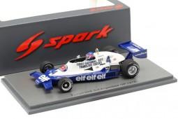 TYRRELL 008 Formula 1 GP Argentina 1978 P. Depailler - Spark Models Escala 1:43 (s7236)