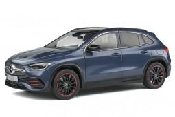 MERCEDES-Benz GLA (H427) 2020 Denim Blue Metallic - Solido Escala 1:18 (S1805203)