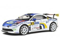 ALPINE A110 RGT Rally du Touquet 2020 F. Delecour / J-R. Guigonnet - Solido Scale 1:18 (S1801608)