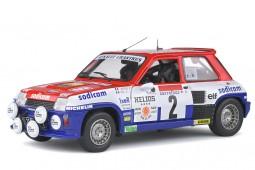 RENAULT 5 Turbo Ganador Rally D Antibes 1983 Therier / Vial - Solido Escala 1:18 (S1801310)