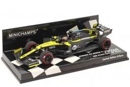 REANULT R.S.20 3rd GP F1 Eifel 2020 D. Ricciardo - Minichamps Scale 1:43 (417200903)