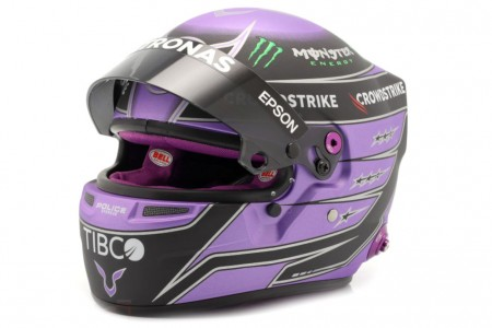 CASCO BELL - Lewis Hamilton Mercedes W12 2021 - Bell Escala 1:2 (4100106)