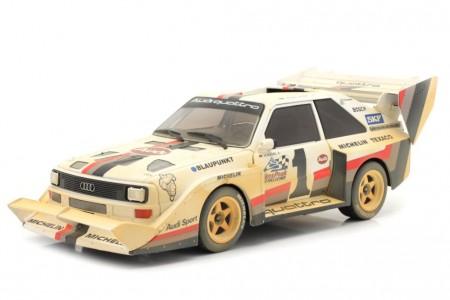 AUDI Sport Quattro S1 E2 Ganador Pikes Peak 1987 Walter Rohrl - Version Sucia - CMR Scale 1:18 (CMR190)
