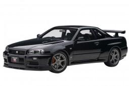 NISSAN Skyline GT-R (R34) V-Spec II 2001 Black Pearl - AutoArt Escala 1:18 (77407)