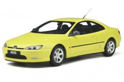 PEUGEOT 406 V6 Coupe Phase 1 1997 Yellow - OttoMobile Escala 1:18 (OT897)