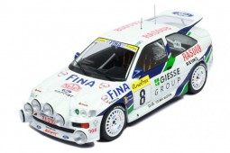 FORD Escort RS Cosworth Rally Montecarlo 1995 Thiry / Prevot - Ixo Models Escala 1:18 (18RMC056B)
