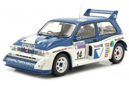 MG Metro 6R4 RAC Rally 1986 D. Llewellin / P. Short - Ixo Models Escala 1:18 (18RMC068C)