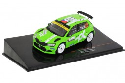 SKODA Fabia R5 Evo Rallye Monza 2020 J. Kopecky / H. Hlousek - Ixo Models Scale 1:43 (RAM777)