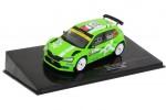 SKODA Fabia R5 Evo Rallye Monza 2020 J. Kopecky / H. Hlousek - Ixo Models Escala 1:43 (RAM777)