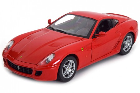 Ferrari 599 Gtb Fiorano 2006 Hot Wheels Scale 118 P4398