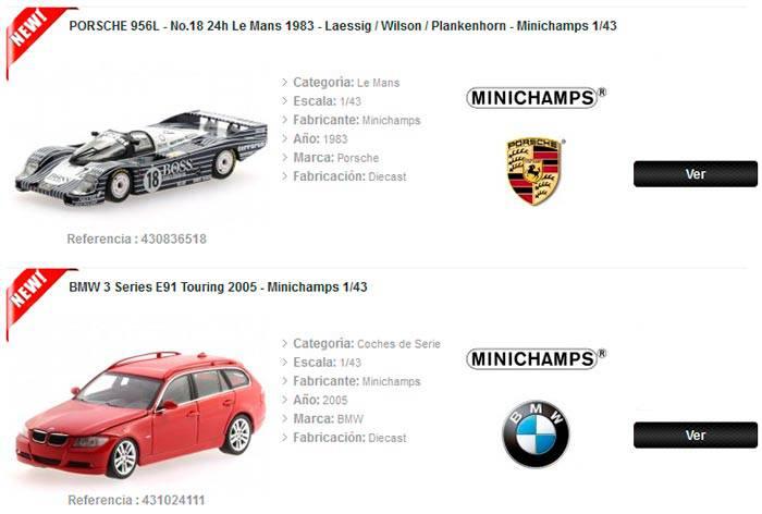 coches de coleccion a escala