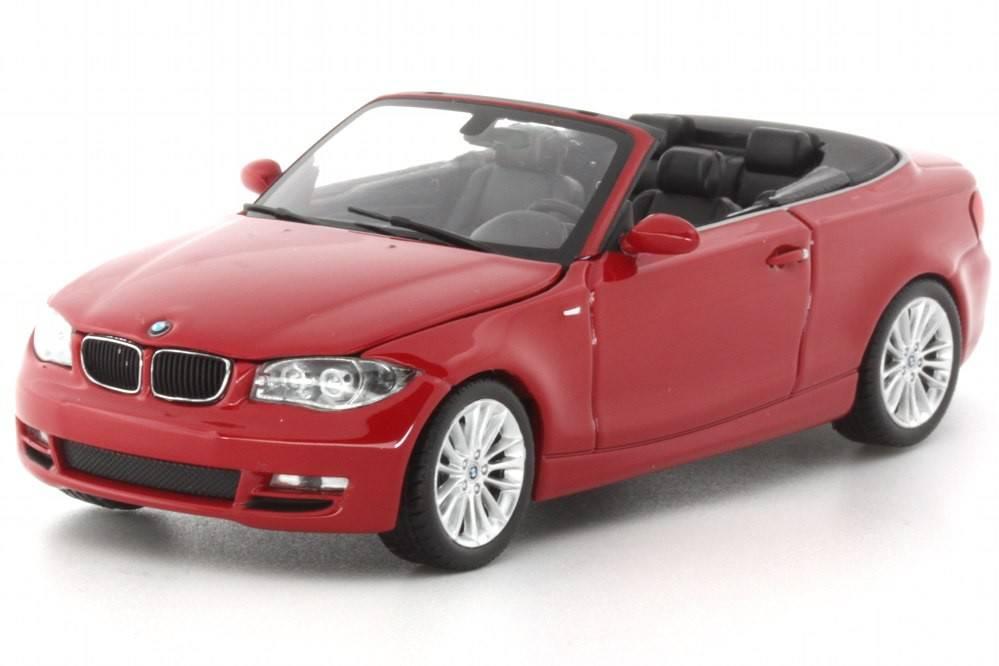 BMW Serie 1 Cabriolet 2007 - Minichamps 1/43 - EDICION LIMITADA 1.440 pcs