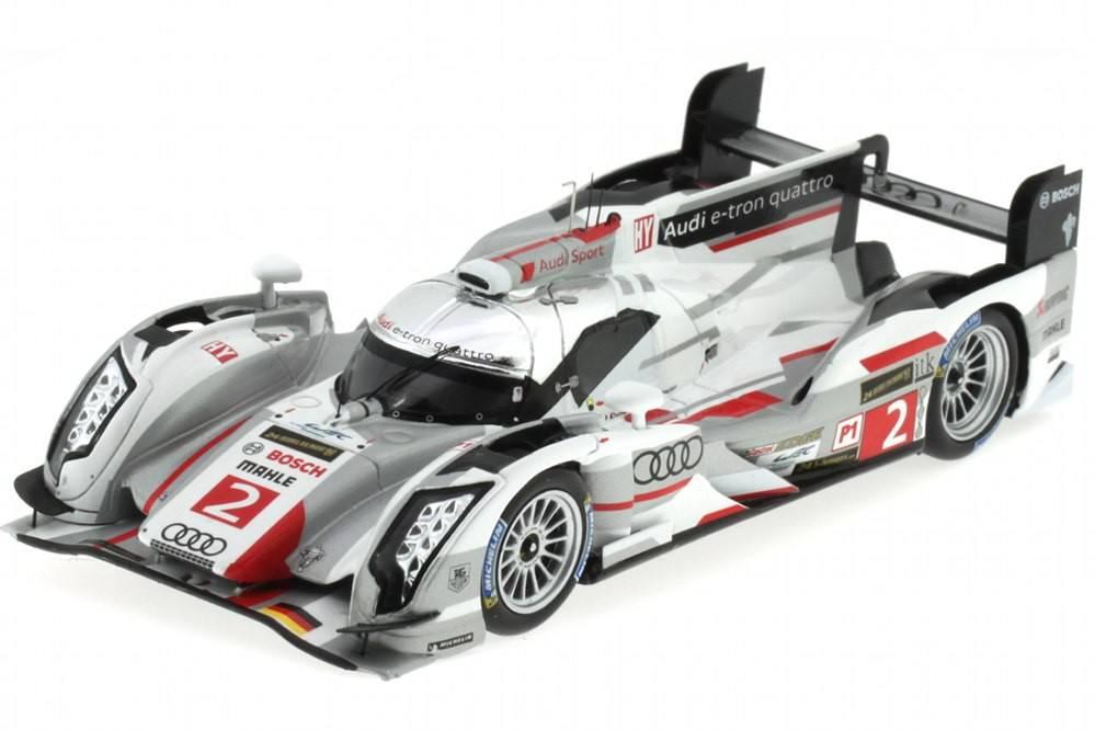 AUDI R18 e-tron quattro - No.2 Ganador Le Mans 2013 - Duval / Kristensen / McNish - Spark Escala 1/43