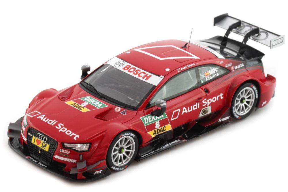 AUDI RS5 Team Abt DTM 2014 Miguel Molina - Spark Models Escala 1:43 (SG173)
