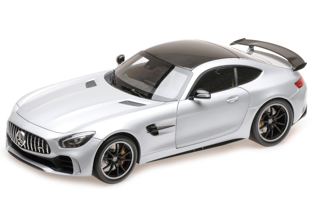MERCEDES-Benz AMG GT R 2017 Plata - Almost Real Escala 1:18 (ALM820702)